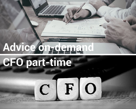 Advice on-demand freelance CFO part-time