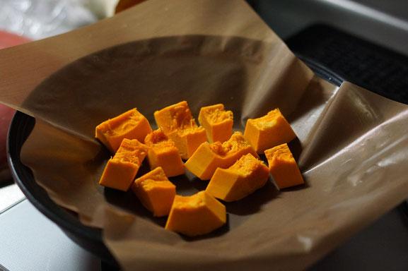 陶芸家 ブログ 茨城県笠間市 土鍋 かぼちゃ 直火蒸し 美味しい食べ方 旬の野菜 無水調理