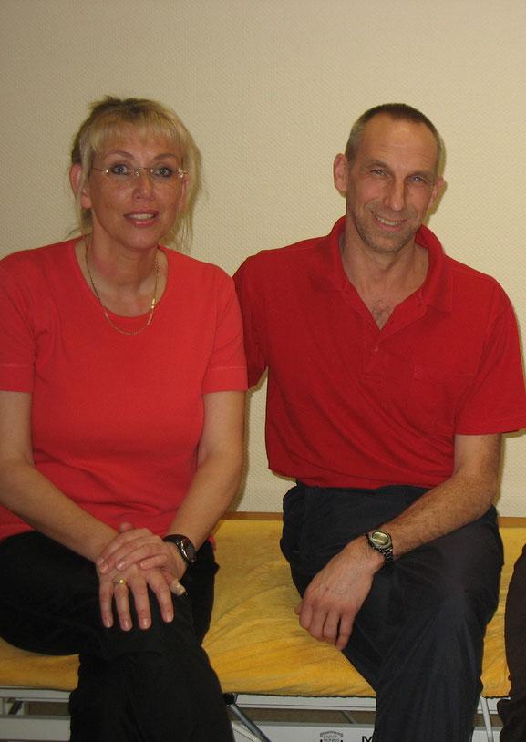 Miarbeiter in der Praxis für Physiotherapie Karel Paassen in Neheim