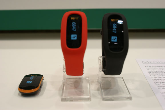 Gadgets like these activity trackers or smartwatches are reviewed and reported about on the Sports.Punk-blog. Like for example these pics from the IFA Berlin: http://bit.ly/1whX9kk