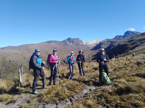 Trekking Wandern Kolumbien Touren individuell Nationalpark Reservat