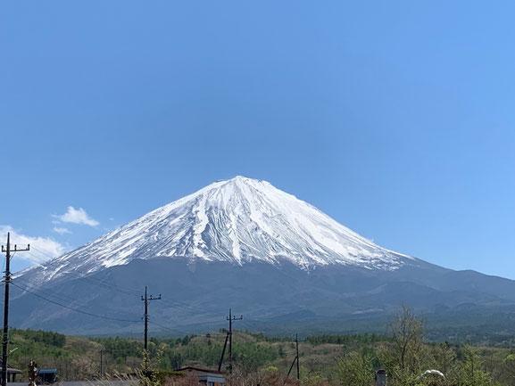富士山 母なる大地