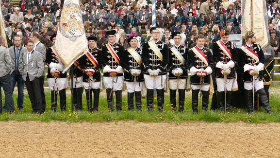 500 Jahre Bayerisches Reinheitsgebot teilnehmende Gruppen