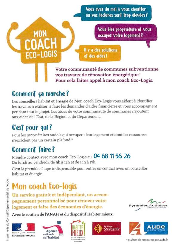 Mon Coach Éco Logis