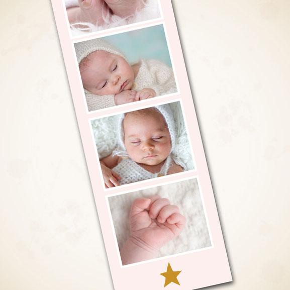Babykarte Anhänger