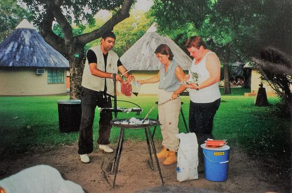 krüger nationalpark selbstfahrer touren: übernachtung im restcamp
