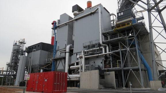 Brignoles la centrale INOVA (photo J.C.Barla) une subvention de 8 millions d'euros par an pour son fonctionnement