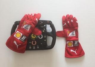 Objekt einrahmen; -Signiert von Vettel