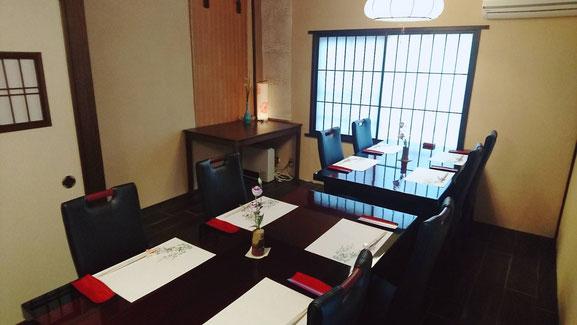 個室|福井市順化で地酒が豊富な割烹・居酒屋「晩酌ちろり」