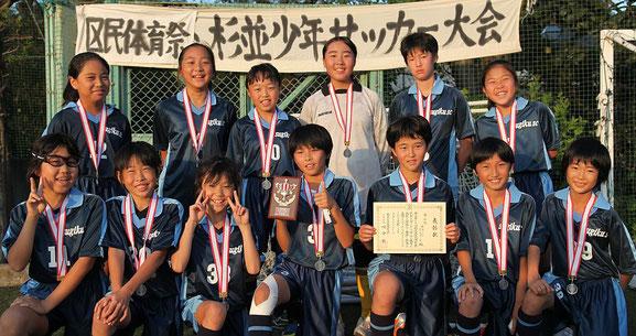 準優勝 杉九SC ティフォーネ