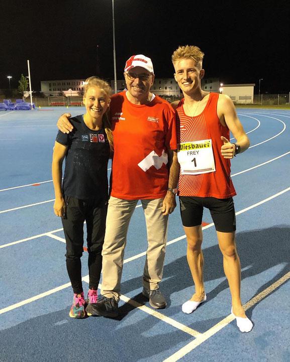 Julia Mayer Sebastian Frey coach Karl Sander Dsg wien wiener Rekord 10.000 meter bahn Eisenstadt Burgenland Staatsmeisterschaften