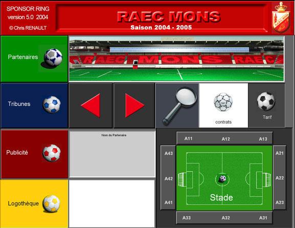 RAEC Mons /  SPONSORS FOOTBALL