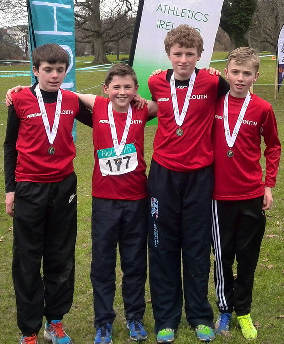 Under 14 Boys' team (silver medallists)