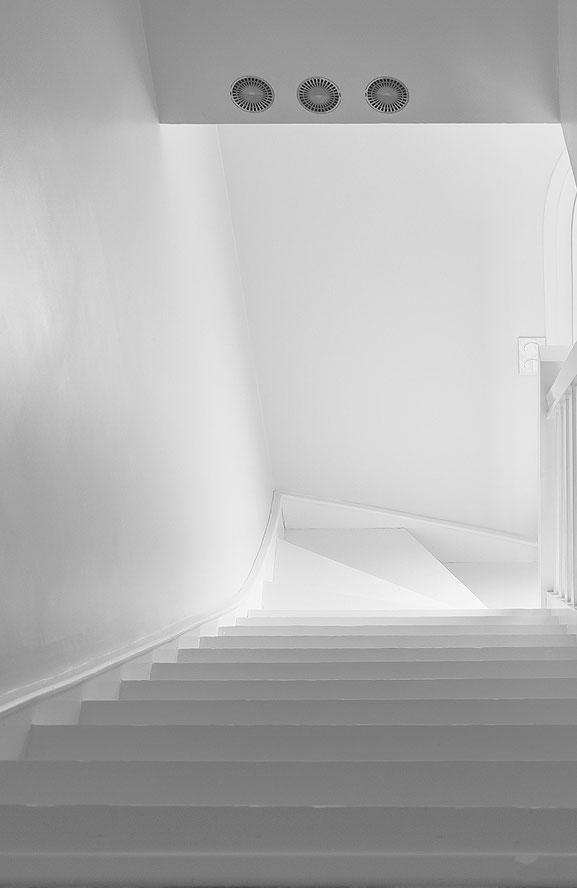 Treppe, Canvas 100 x 65 cm