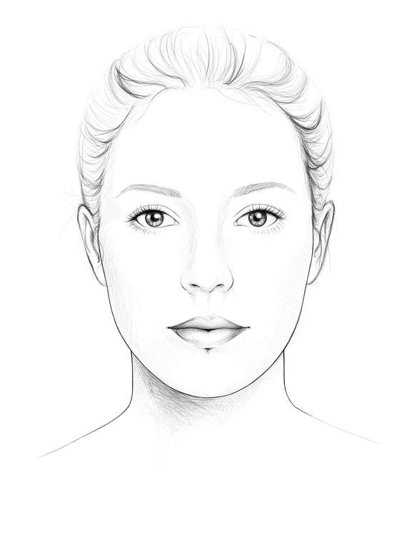 ovales Gesicht, Gesichtsformen,
