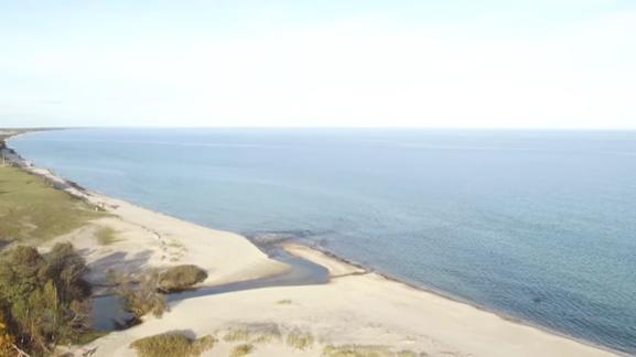La côte actuelle. Crédit : Lund University