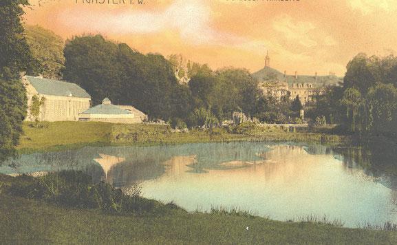 Kolorierte Ansichtskarte um 1900