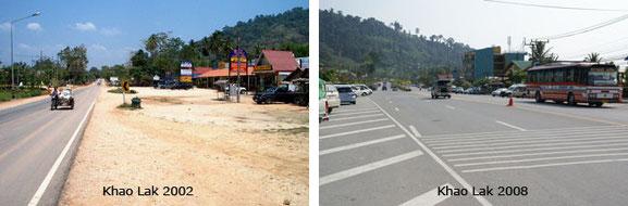 Vergleich 2002 / 2008