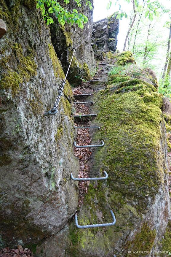 Klettersteig Hölderstein
