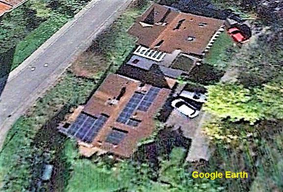 Leben mit der Energiewende TV - Satellitenbild mit E-Wald Zoe