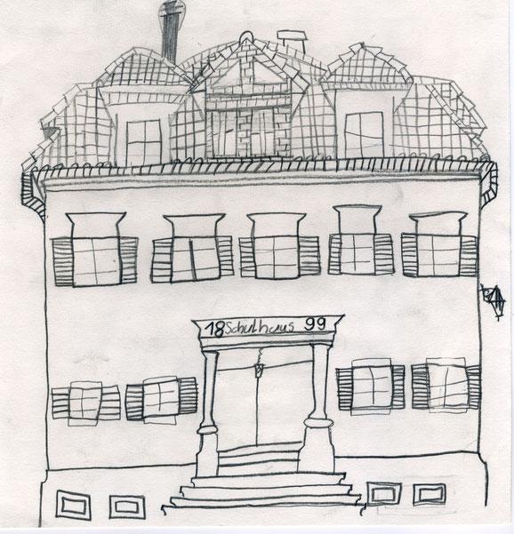 Marcel, 2. Klasse: Schulhaus Raperswilen, 1999. Privatbesitz...