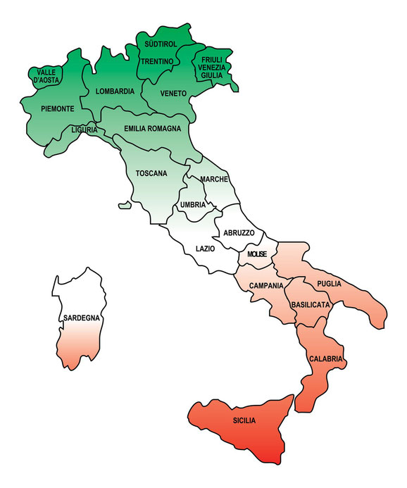 Informationen zu Italien finden Sie unter www.enit.at  oder klicken sie auf die karte