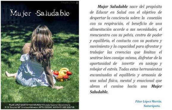 mujer saludable