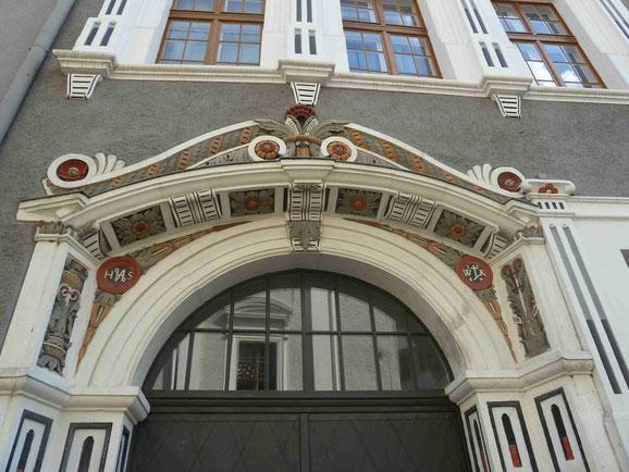 Historischer Hauseingang in der Altstadt