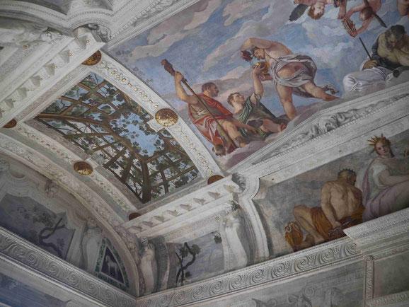Fresken von Veronese, Villa Barbaro