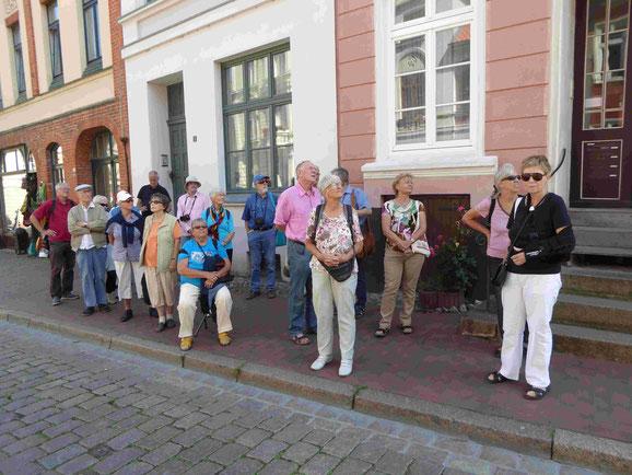 Die TKK-Reisegruppe bei der Stadtführung