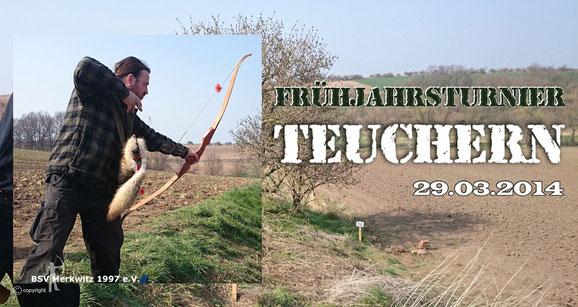 Frühjahrsturnier in Teuchern am 29.03.2014