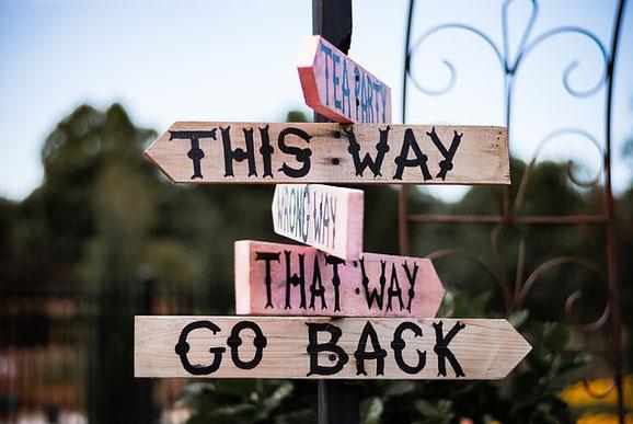 Wohin willst Du? | Der Weg ist das Ziel.