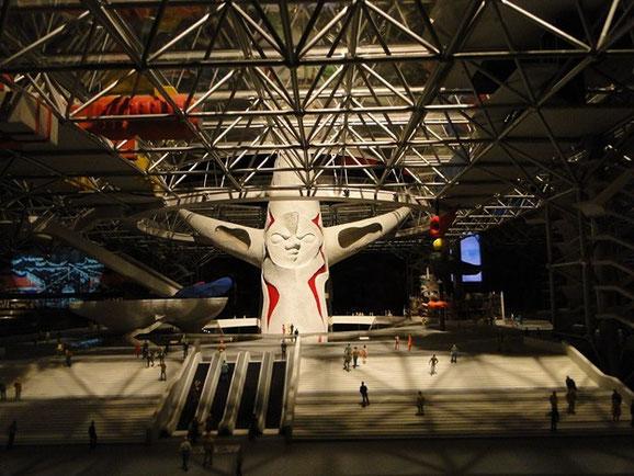 EXOO'70パビリオン展示模型