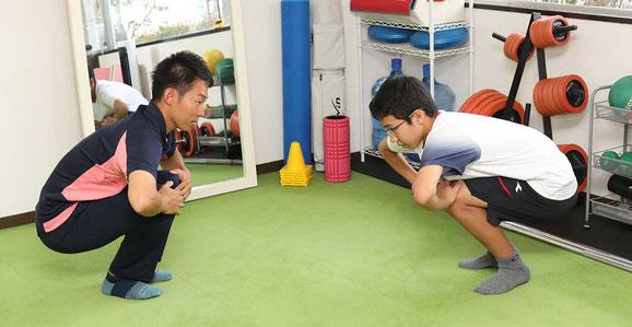 ウォーミングアップ&ベーシックトレーニング