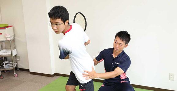 フットワークトレーニング&フォームチェック&改善トレーニング