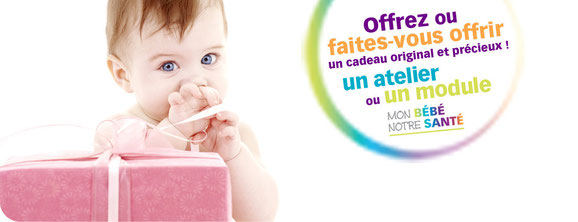 """Avec la carte cadeau """"Mon Bébé, Notre Santé"""", offrez à vos proches un cadeau précieux pour leur santé."""