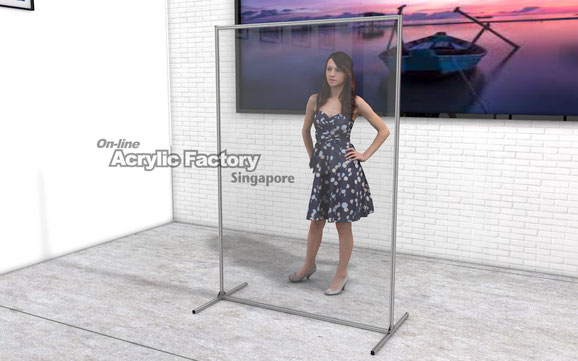 Acrylic partition Type18-1