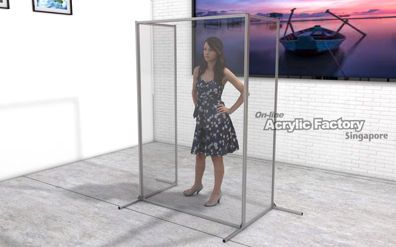 Acrylic partition Type18 customisation1