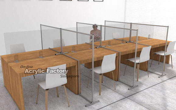 Acrylic partition Type21 with Type11