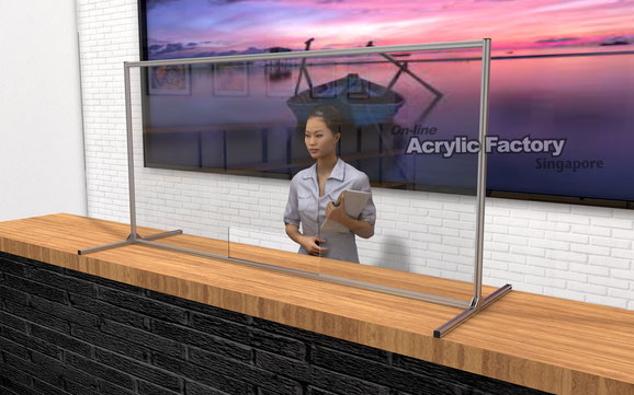 Acrylic partition Type19-1