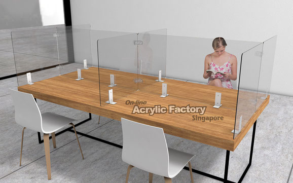 Type4 long table with side shield