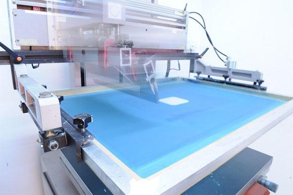 auto silkscreen printing