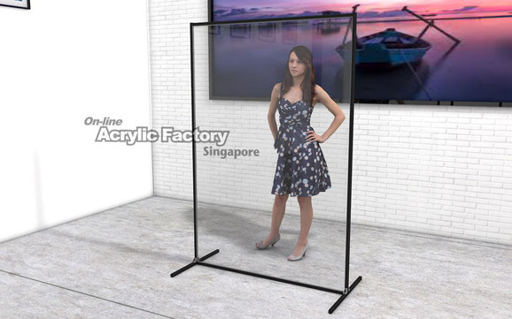 Acrylic partition Type18-2