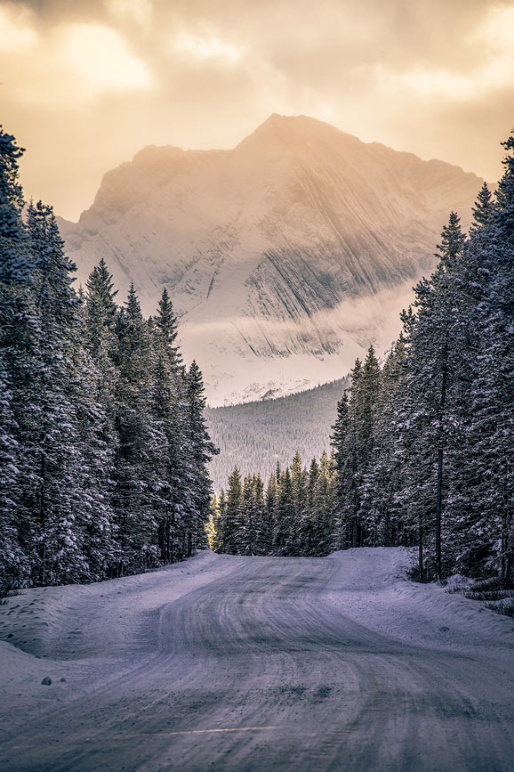 Winter roads in Kananaskis country @InAFaraway_Land