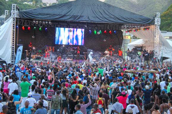 World Creole Music Festival, Dominica, Karibik, Karibische Inseln
