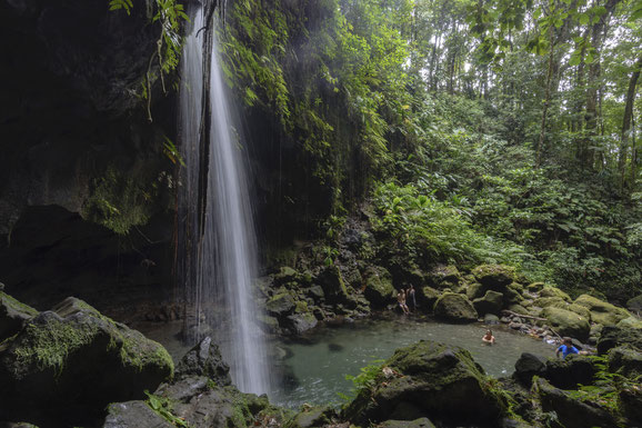 Emerald Pool, Dominica, Karibik, Karibische Inseln
