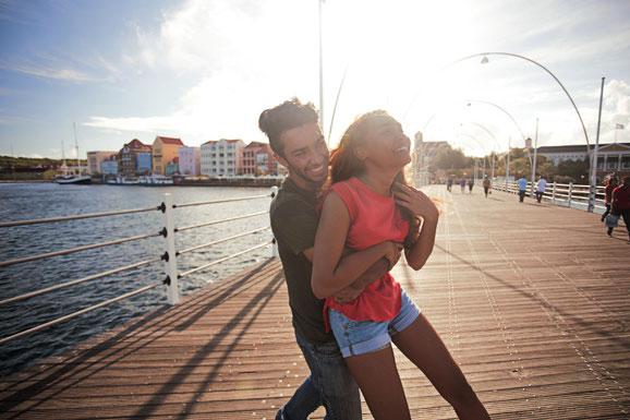 Königin Emma Pontonbrücke, Curacao, Karibik, Karibische Inseln