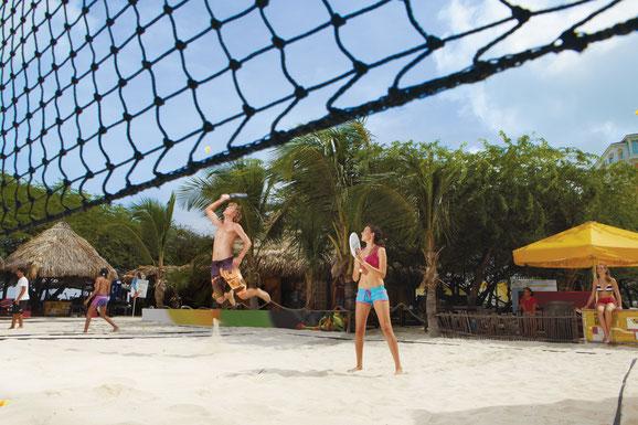 Beach Tennis, Aruba