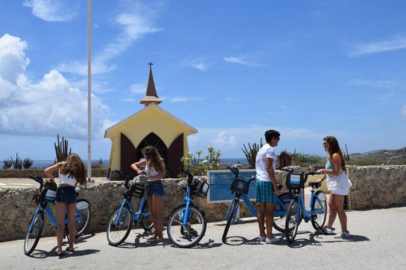 Bike, Aruba, Menschen