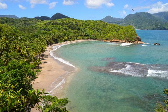 Champagne Beach, Karibische Inseln, Karibik